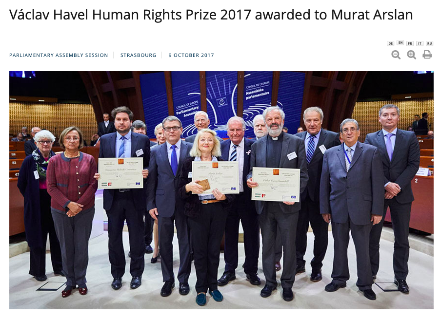 Vaclav Havel Prize