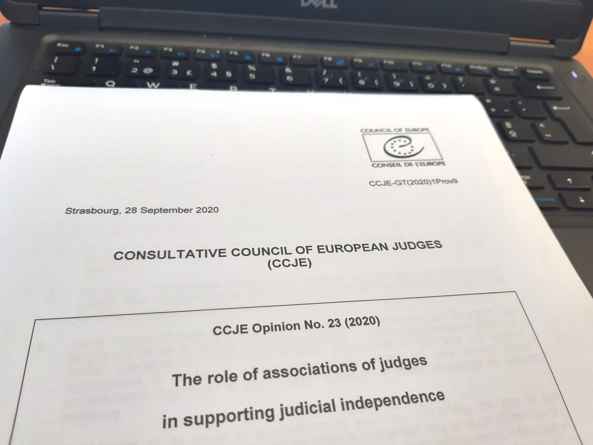 """The Role of Associations of Judges in Supporting Judicial Independence"""