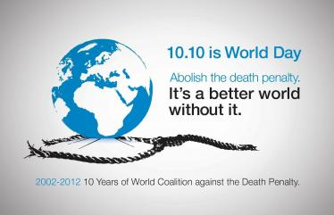 Oct 10th: 10th World Day against the Death Penalty